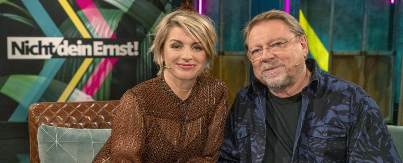 """""""Nicht dein Ernst!"""" mit Sabine Heinrich und Jürgen von der Lippe – Bild: WDR/Max Kohr"""
