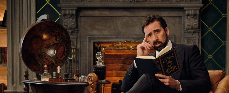 """Nicolas Cage führt durch """"Die Geschichte der Schimpfwörter"""" – Bild: Adam Rose/Netflix"""