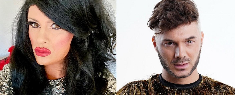 Nina Queer (l.) ist raus, Sam Dylan (r.) ersetzt sie – Bild: TVNOW/Stefan Gregorowius