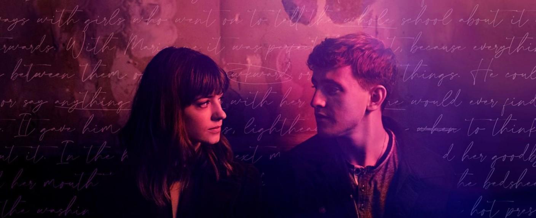 """Normal People"" – Marianne (Daisy Edgar-Jones) und Connell (Paul Mescal) – Bild: BBC three"