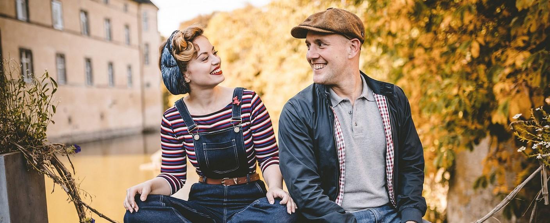 Victoria Beyer und Oliver Petszokat – Bild: WDR/Julian Huke