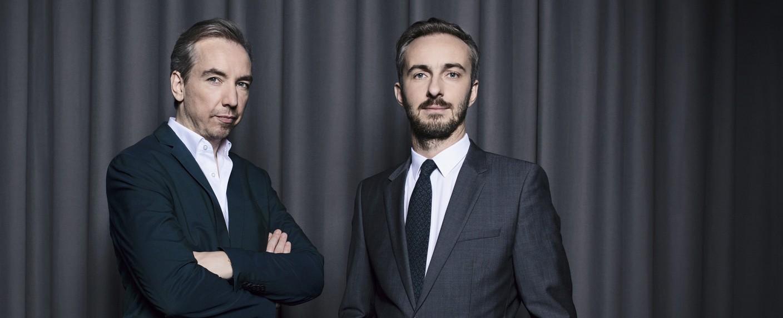 Olli Schulz & Jan Böhmermann – Bild: ZDF/Ben Knabe