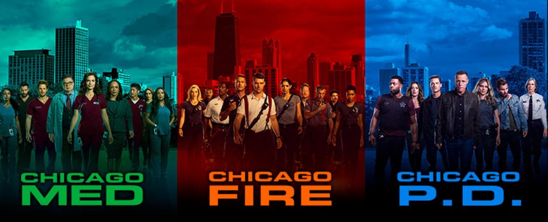 """""""Chicago Med"""", """"Chicago Fire"""" und """"Chicago P.D."""" bilden das Franchise """"One Chicago"""" – Bild: NBC"""