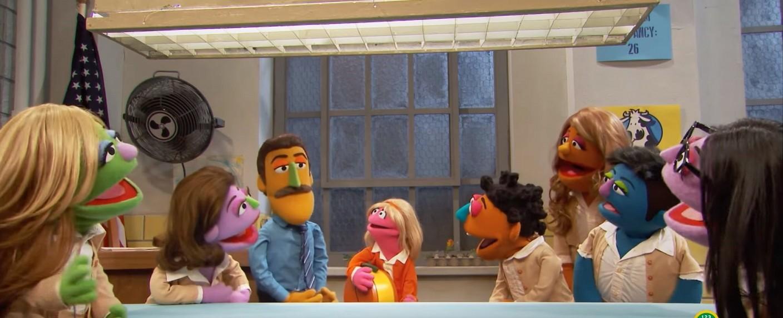 """Orange is the New Snack"" – Bild: Sesame Workshop"