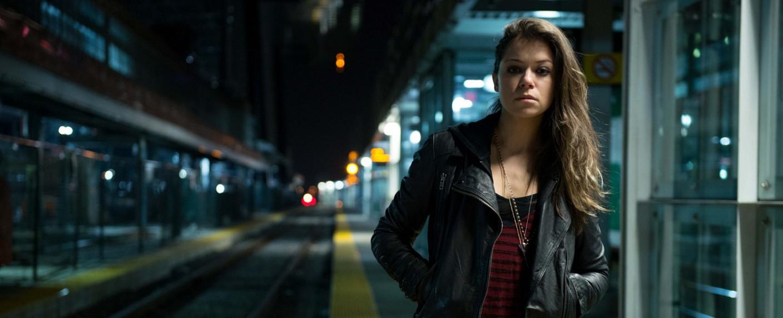 """Tatiana Maslany in """"Orphan Black"""" – Bild: ZDF"""