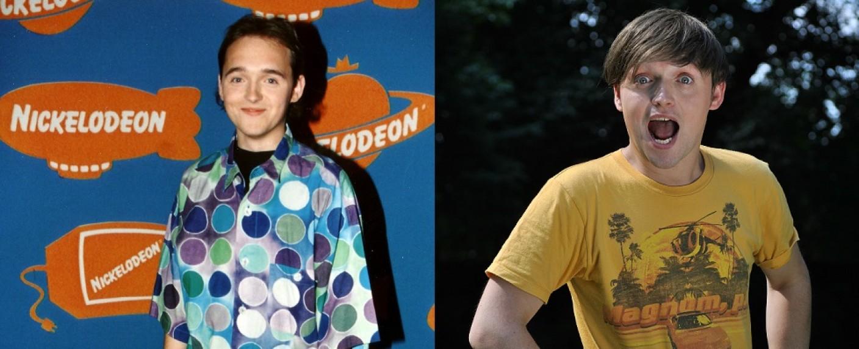 Paddy Kroetz – damals und heute – Bild: Nickelodeon/Paddy Kroetz
