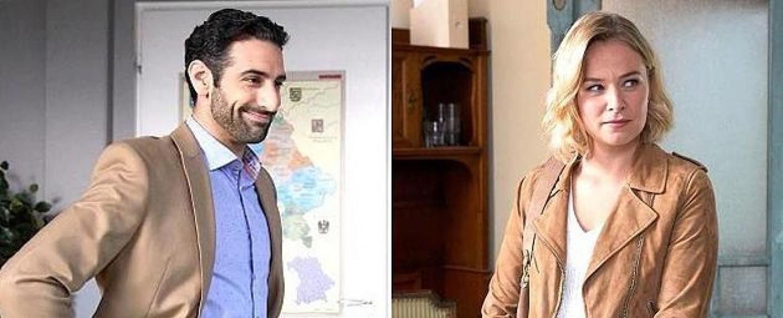 """Paul Brusa und Vanessa Eckart sind die Neuen bei den """"Rosenheim-Cops"""" – Bild: ZDF/Bojan Ritan"""