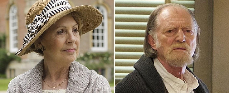 """Penelope Wilton (l.) und David Bradley (r.) stehen Ricky Gervais in """"After Life"""" zur Seite – Bild: BBC/FX"""