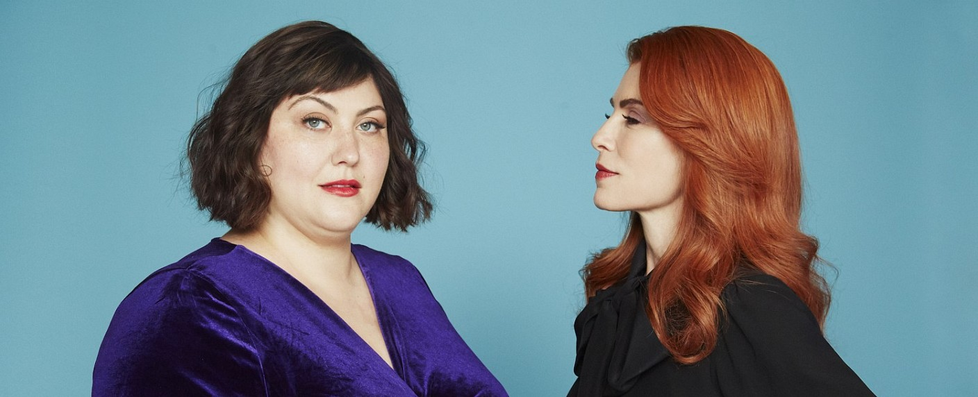 "Plum Kettle (Joy Nash, l.) und Kitty Montgomery (Julianna Margulies) in ""Dietland"" – Bild: AMC NEtworks"