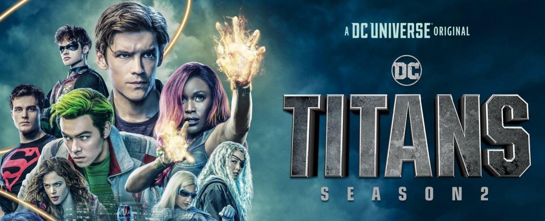 """Poster zum US-Start der zweiten Staffel von """"Titans"""" – Bild: DC Universe"""