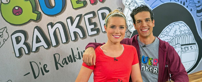 """""""Querranker"""": Vanessa Meisinger und Daniele Rizzo – Bild: Super RTL/Jürgen Morgenroth"""