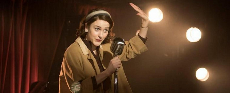 "Rachel Brosnahan als ""The Marvelous Mrs. Maisel"" – Bild: Prime Video"