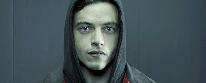 "Rami Malek als Elliot Alderson inn ""Mr. Robot"" – Bild: RTL Crime"