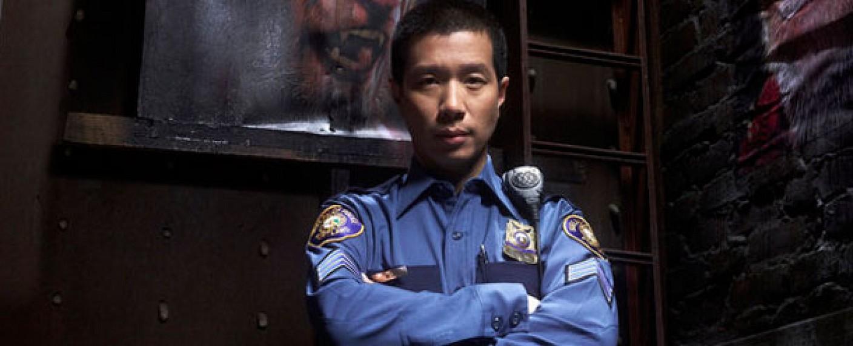 "Reggie Lee als Sergeant Drew Wu in ""Grimm"" – Bild: NBC"
