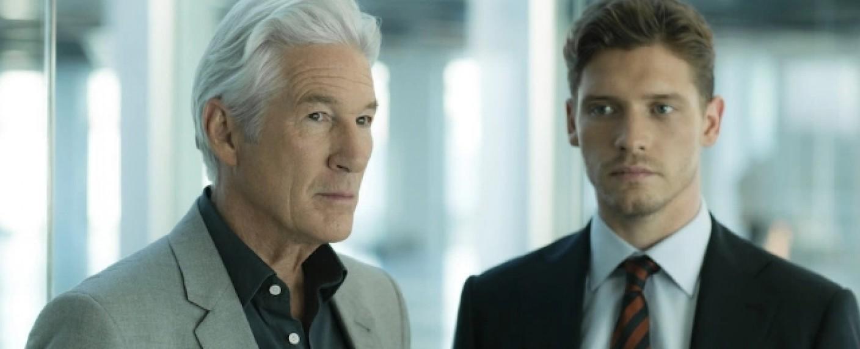 """Richard Gere und Billy Howl in """"MotherFatherSon"""" – Bild: BBC"""