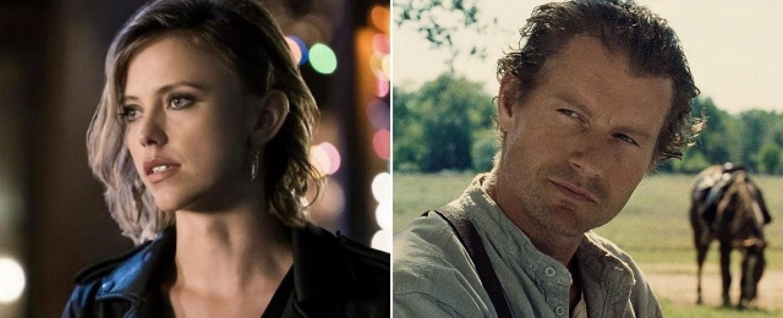 """Riley Voelkel (l.) und James Badge Dale (r.) verstärken """"Hightown"""" – Bild: The CW/Echo Bridge Entertainment"""