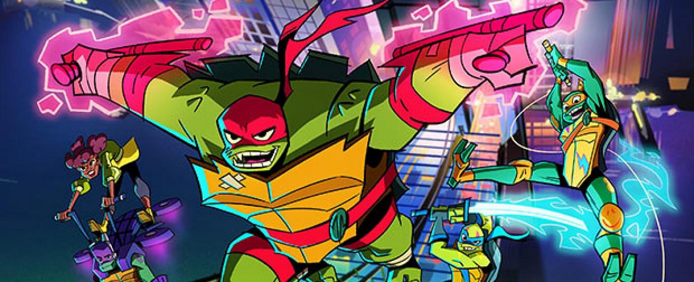 """Rise of the Teenage Mutant Ninja Turtles"" – Bild: Nickelodeon"