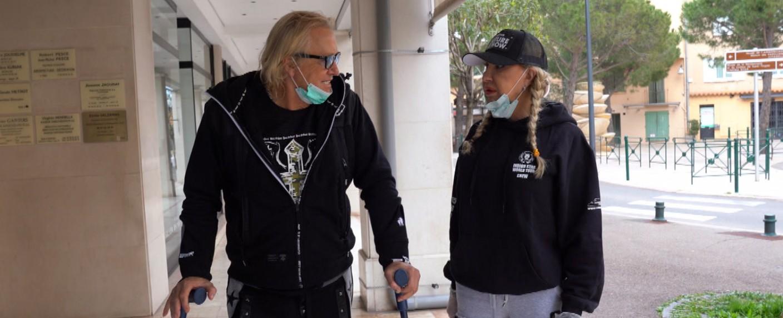 Robert und Carmen Geiss reagieren auf die Corona-Krise. – Bild: RTL Zwei