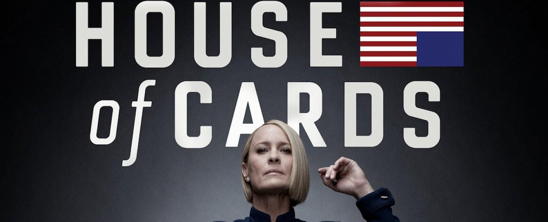 "Robin Wright auf dem Präsidentenstuhl in ""House of Cards"" – Bild: Netflix"