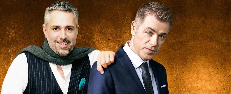 """Roland Trettl (l.) und Michael Mittermeier (r.) sind die Gastgeber von """"True Story"""" – Bild: MG RTL D / Gregorowius/Heine"""