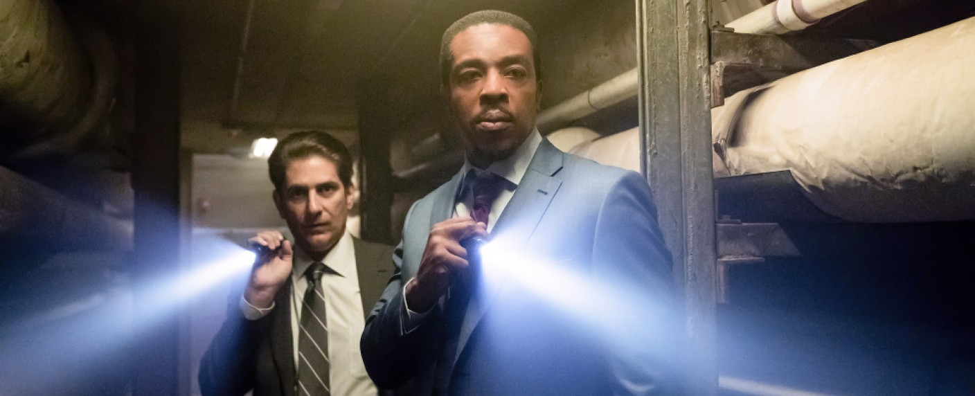 """Russell Hornsby (r.) und Michael Imperioli (l.) in """"Lincoln Rhyme"""" – Bild: NBC"""