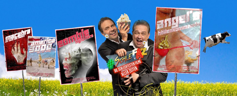 """Schlechte Filme, gutes Popcorn: """"SchleFaZ"""" kehrt im April zurück – Bild: Tele 5"""