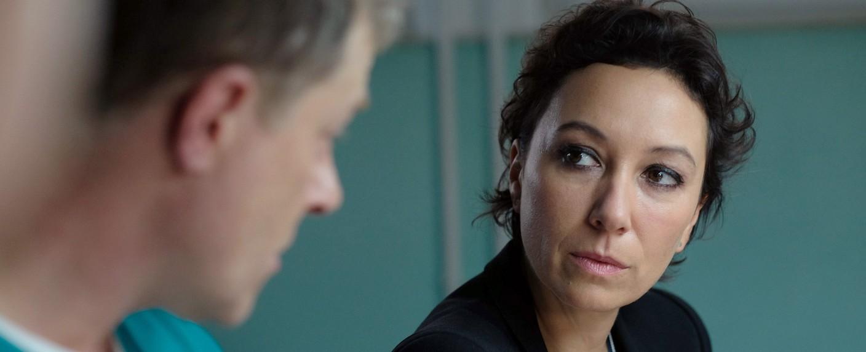 """""""Schnell ermittelt"""": Ursula Strauss ist Angelika Schnell – Bild: BR/ORF/Pedro Domenigg"""