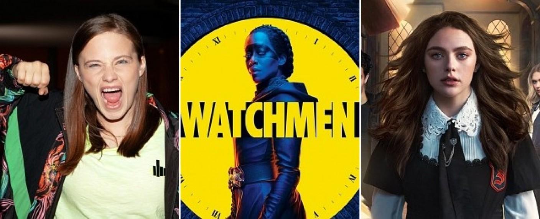 "Serienstarts im November: ""Rampensau"", ""Watchmen"" und ""Legacies"" – Bild: TVNOW u. Florian Kolmer/ HBO / The CW"