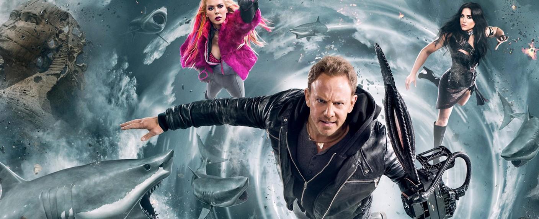 """""""Sharknado"""" steht vor dem letzten Hai-Massaker – Bild: Syfy"""