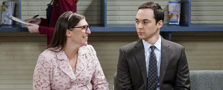 "Sheldon (Jim Parsons) und Amy (Mayim Bialik) in ""The Big Bang Theory"" – Bild: CBS"