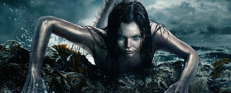 """""""Mysterious Mermaids"""": Ryn (Eline Powell) in ihrer natürlichen Form – Bild: Freeform"""