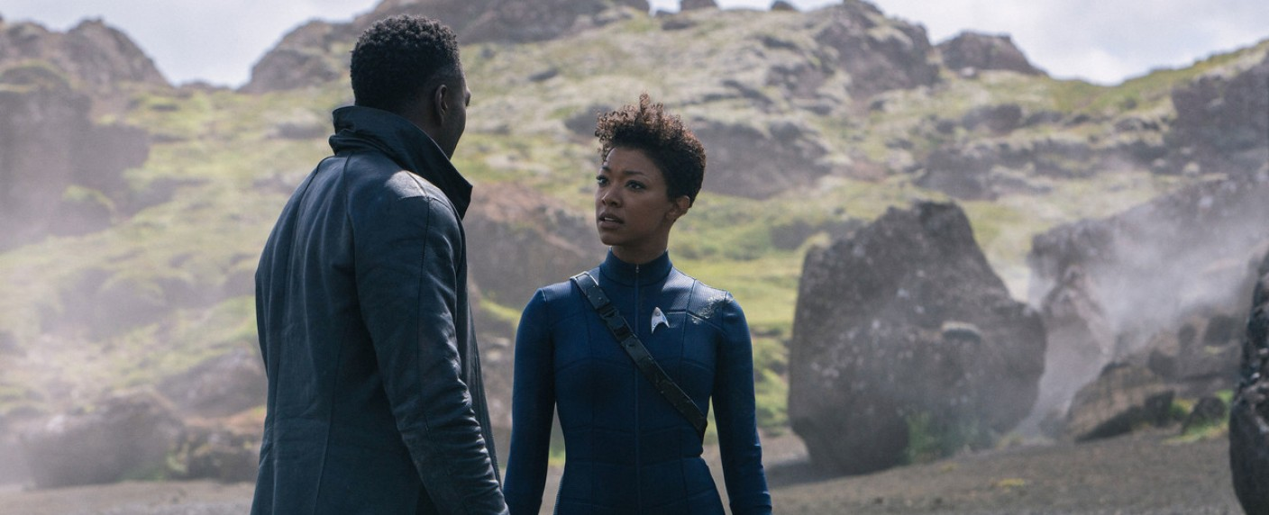 """Star Trek: Discovery"": Book (David Ajala) und Burnham (Sonequa Martin-Green) – Bild: CBS All Access"