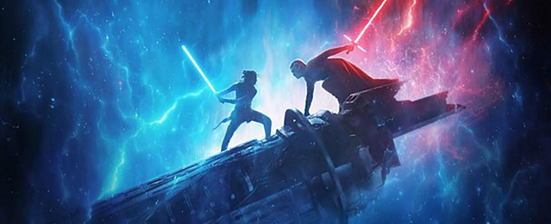 """Ausschnitt aus dem Poster zu """"Star Wars: The Rise of Skywalker"""" – Bild: Lucasfilm"""