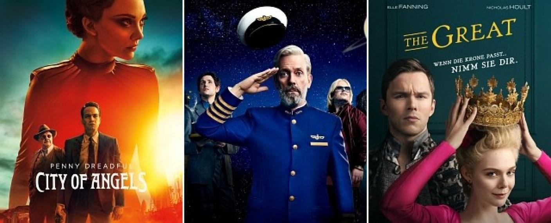 "Starten im Juni: ""Penny Dreadful: City of Angels"", ""Avenue 5"" und ""The Great"" – Bild: HBO/HBO/Starzplay"