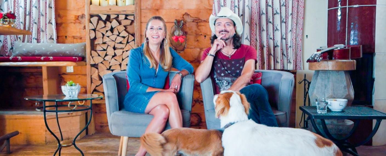 Stefanie Hertel und Lanny Lanner – Bild: TVNOW