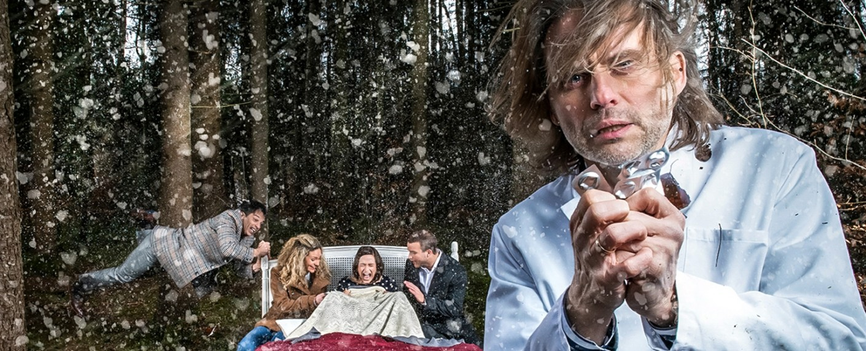 """""""Sturm der Liebe"""" einmal wörtlich: Die ARD-Telenovela feiert die 3333. Folge – Bild: ARD/Christof Arnold"""