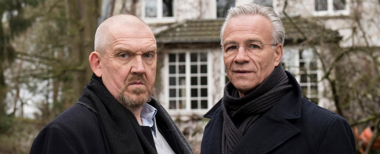 """""""Tatort"""": Die Kommissare Freddy Schenk (Dietmar Bär, l.) und Max Ballauf (Klaus J. Behrendt, r.) – Bild: WDR/Martin Valentin Menke"""