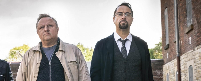 """""""Tatort: Spieglein, Spieglein"""" mit Axel Prahl und Jan Josef Liefers – Bild: WDR/Thomas Kost"""