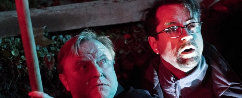 """""""Tatort: Väterchen Frost"""": Kommissar Frank Thiel (Axel Prahl, l.) und Prof. Karl-Friedrich Boerne (Jan Josef Liefers, r.) – Bild: WDR/Martin Valentin Menke"""