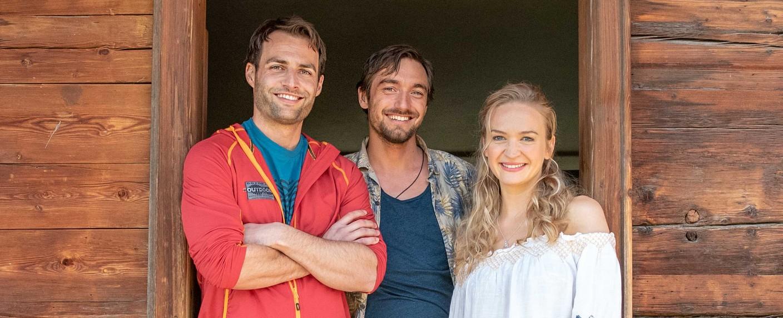 """Team Alpin"" – Bild: ZDF/Stefanie Leo"