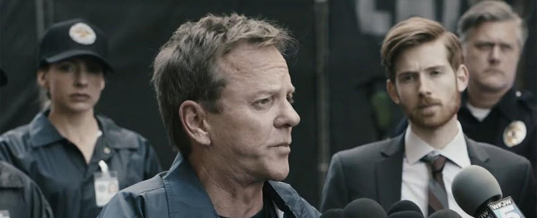 """The Fugitive"" mit Kiefer Sutherland – Bild: Quibi"