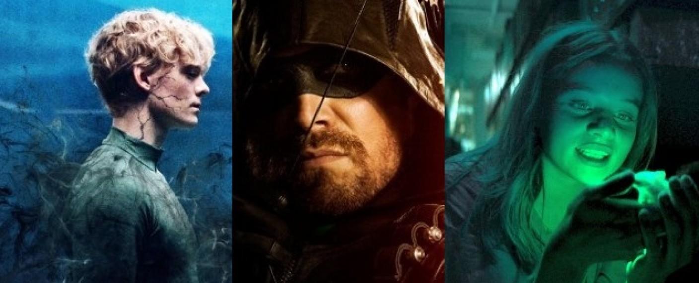 """The Rain"", ""Arrow"" und ""Biohackers"" – Bild: Netflix/The CW/Netflix/Marco Nagel"