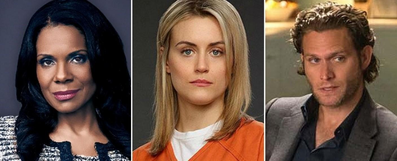 """""""The Second Wave"""": Audra McDonald (l.), Taylor Schilling (m.) und Steven Pasquale (r.) spielen die Hauptrollen – Bild: CBS/Netflix"""