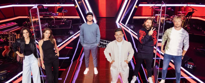 """Die Coaches der zehnten Staffel von """"The Voice of Germany"""" – Bild: ProSiebenSat.1/Richard Hübner"""