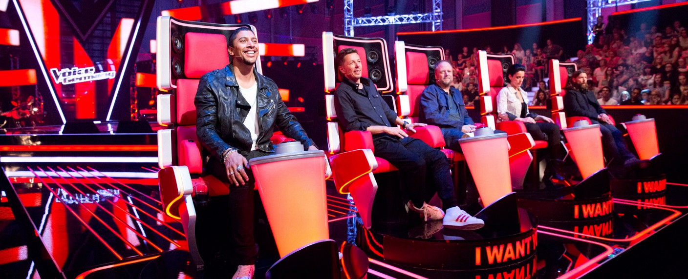 "Die Jury von ""The Voice of Germany"" in Staffel 5 – Bild: ProSiebenSat.1 Media AG"