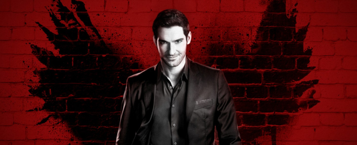 "Tom Ellis ist ""Lucifer"" – Bild: Warner Brothers"