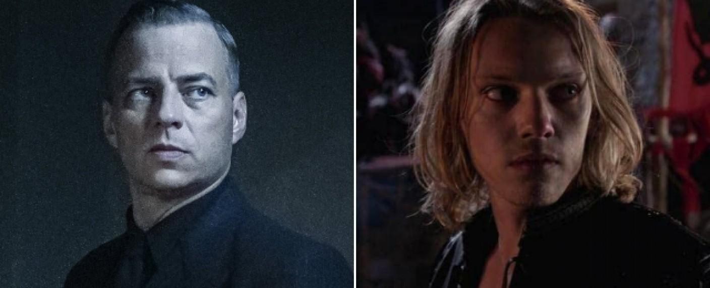 """Tom Wlaschiha (l.) und Jamie Campbell Bower (r.) gehören zu den Neuen bei """"Stranger Things"""" – Bild: Sky/Starz"""