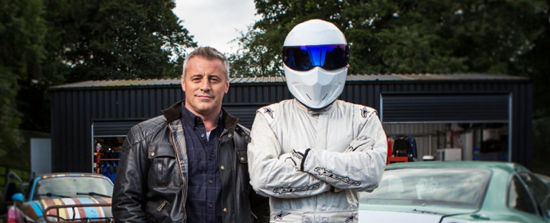 """Top Gear"": Matt LeBlanc mit ""The Stig"" – Bild: Rod Fountain/BBC Worldwide"