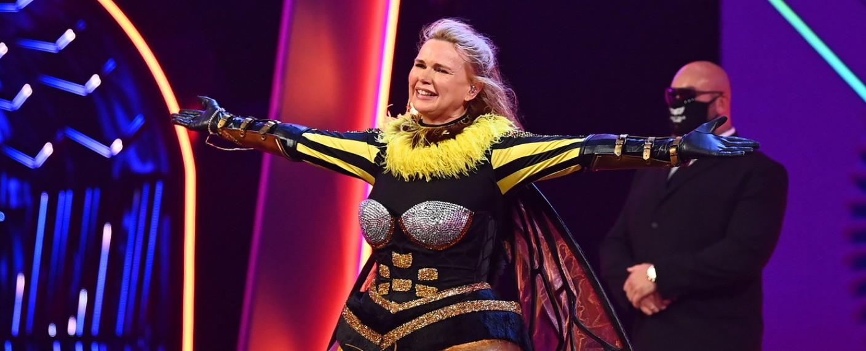 """Veronica Ferres war die Biene bei """"The Masked Singer"""" – Bild: ProSieben/Willi Weber"""