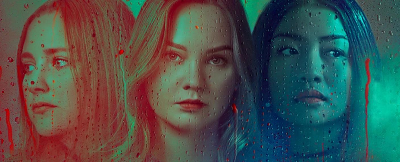 """Verschwörerinnen in der zweiten Staffel von """"Leicht wie eine Feder"""": Violet (Haley Ramm), McKenna (Liana Liberato) und Alex (Brianne Tju) – Bild: TVNOW / Awesome"""